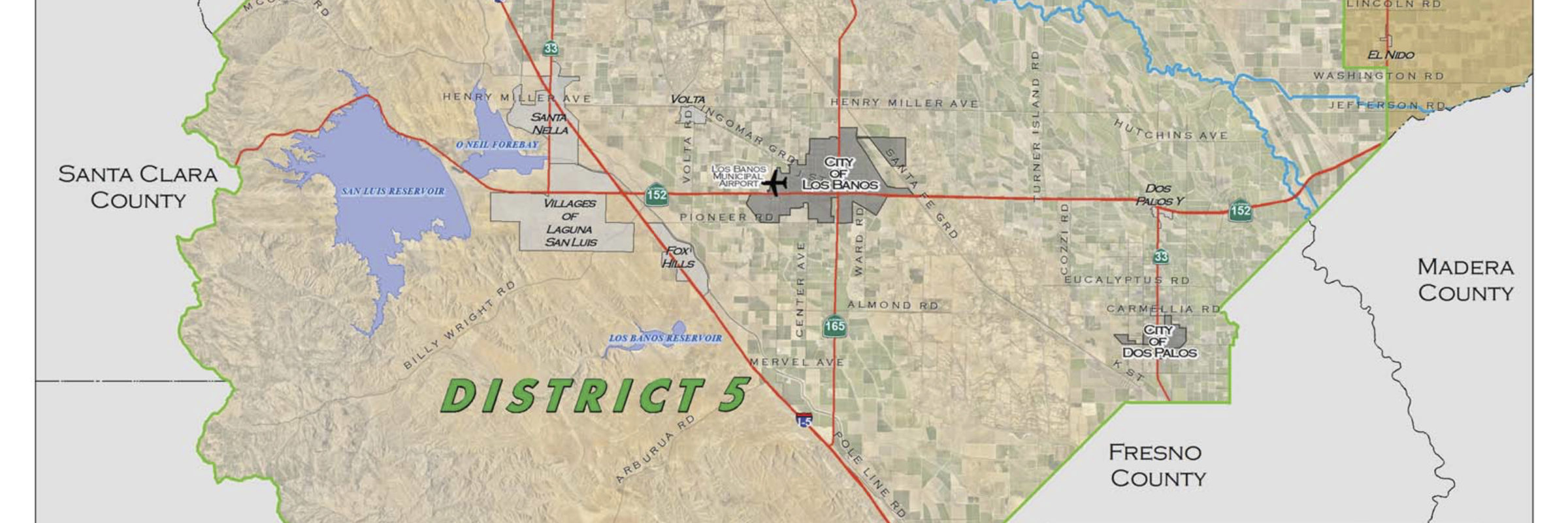 Silveira Map District 5
